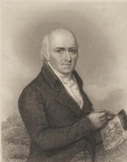 HUMPHRY REPTON, ENGRAVING H.B.HALL, 1839, NPG.