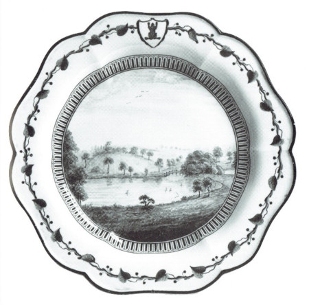 Frog service plate, the state hermitage museum, st. petersburg, 9113.