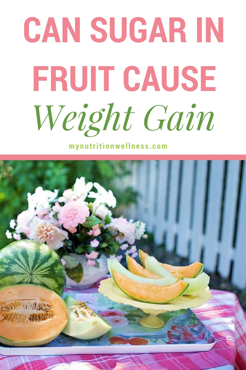sugar in fruit and weight gain