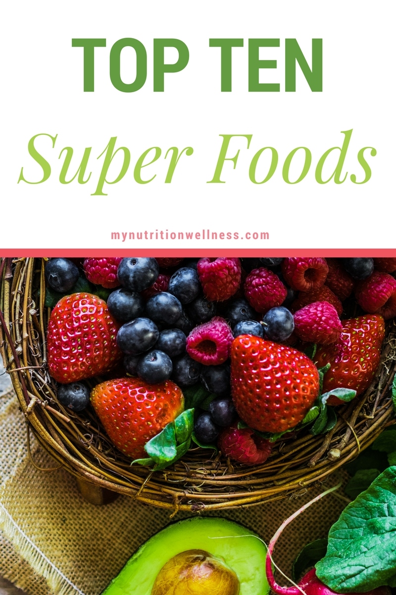 Start including these top ten superfoods into your daily regimen is one of the most powerful steps you can take towards taking better care of your health.