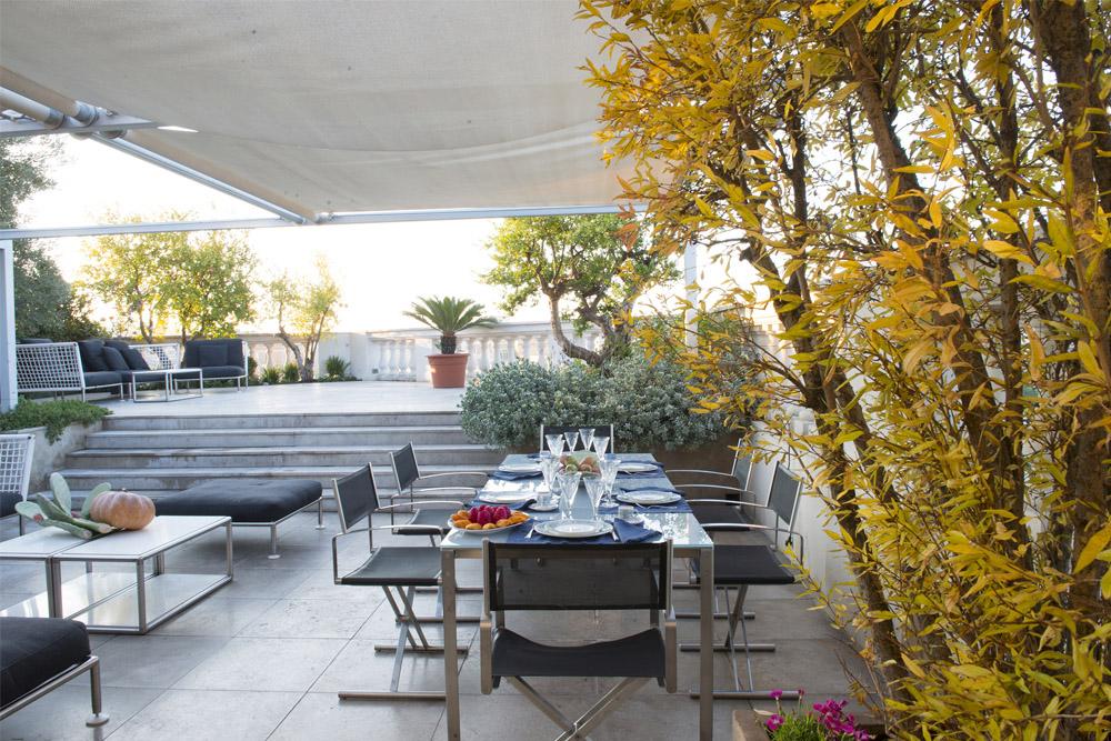Terrazza privata Roma | Giardino pensile realizzato nel centro di ...