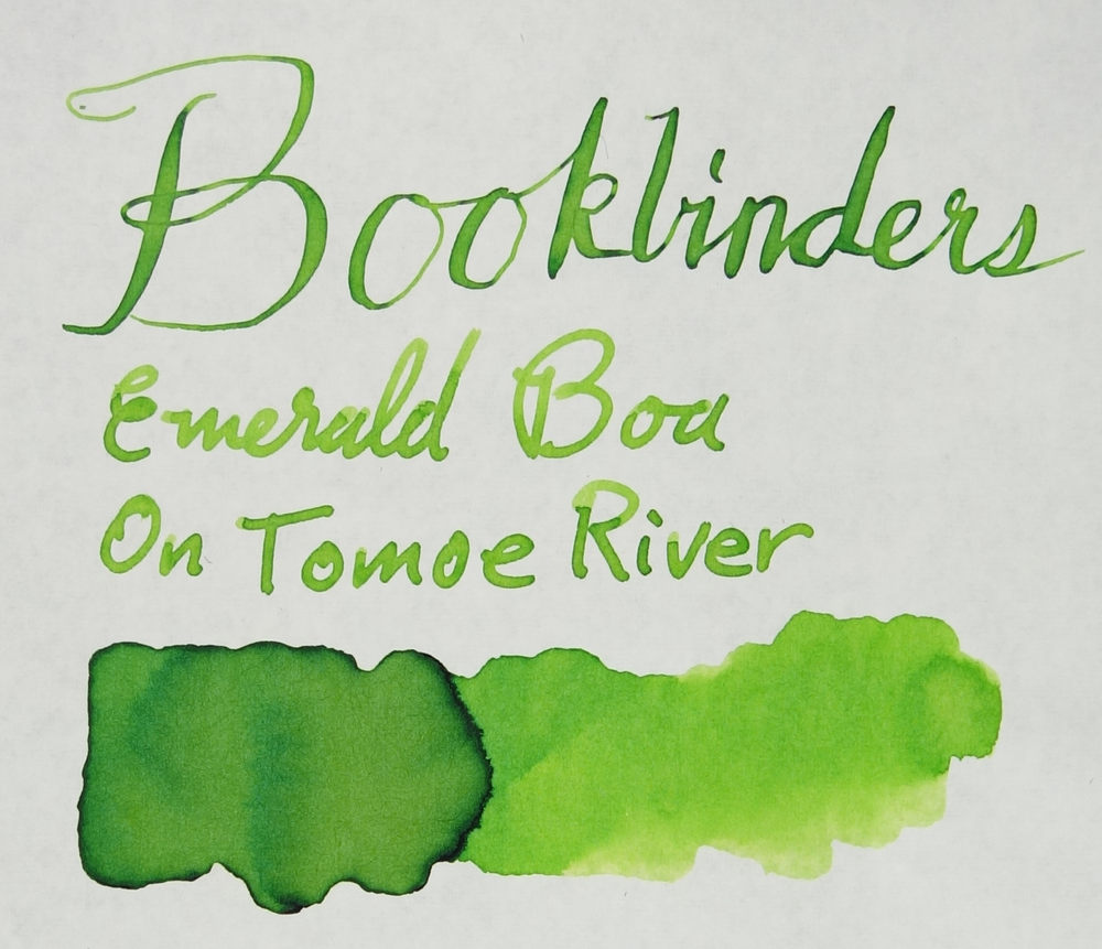Emerald Boa Tomoe River