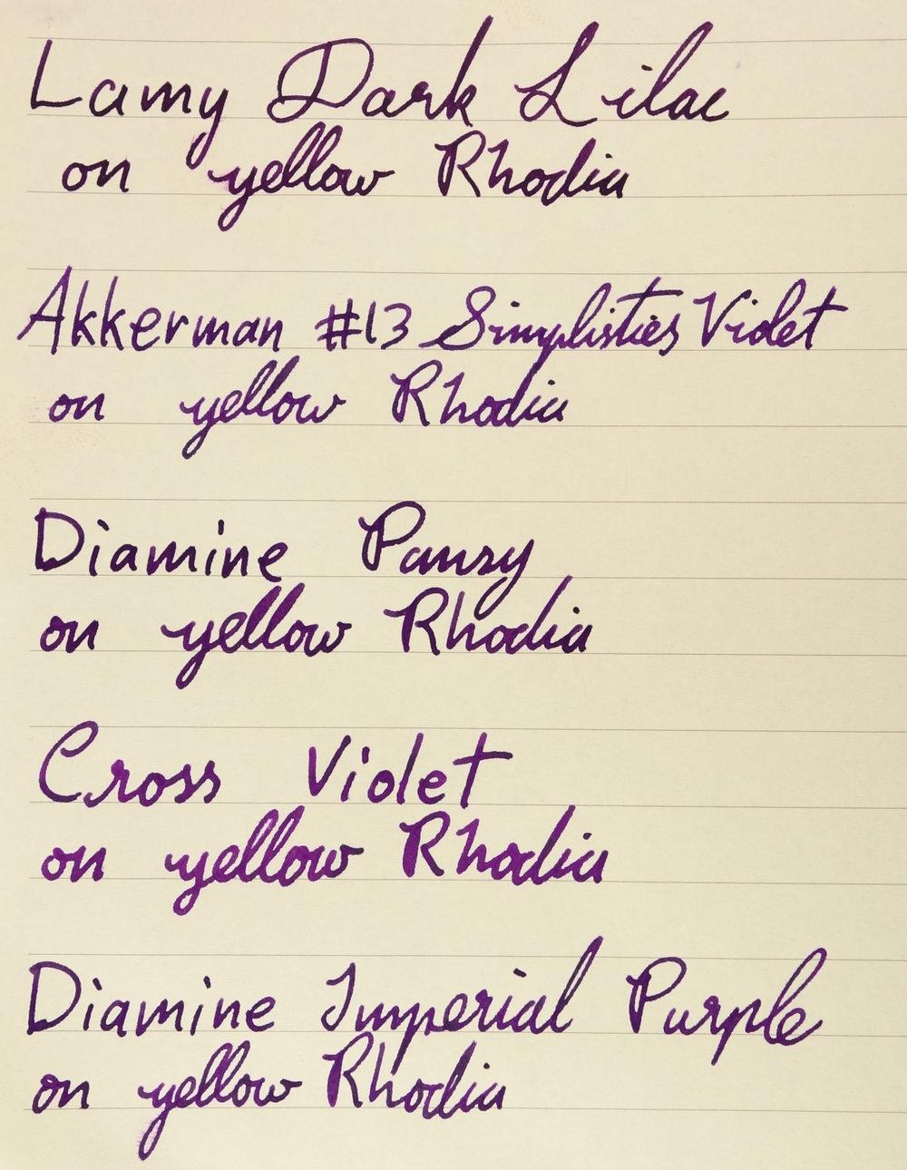 On Yellow Rhodia