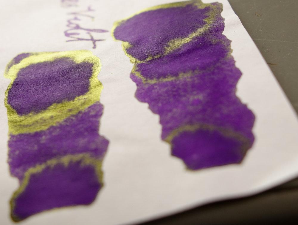 Akkerman #13 & Diamine Imperial Purple