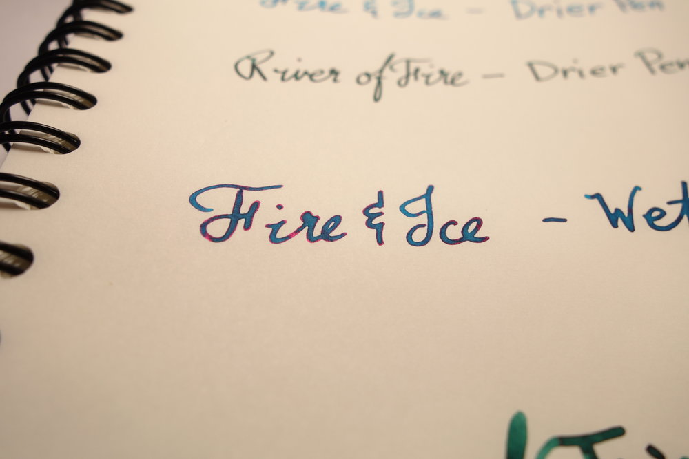 Fire & Ice Wet Pen