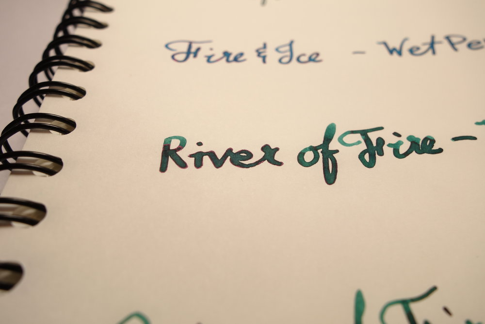 River of Fire Wet Pen
