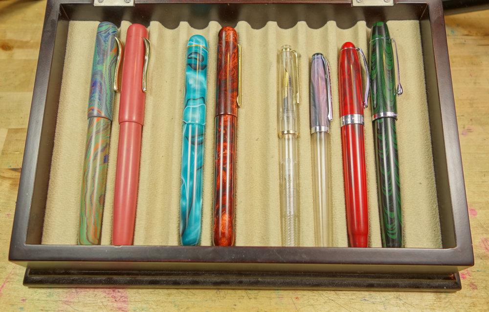 Ranga, Pensive Pens and Noodler's