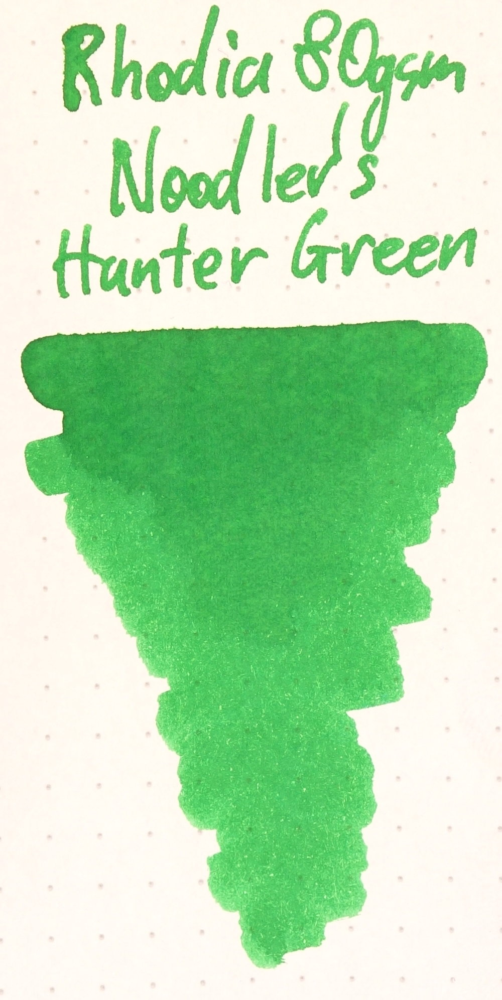 Noodler's Hunter Green Rhodia.JPG