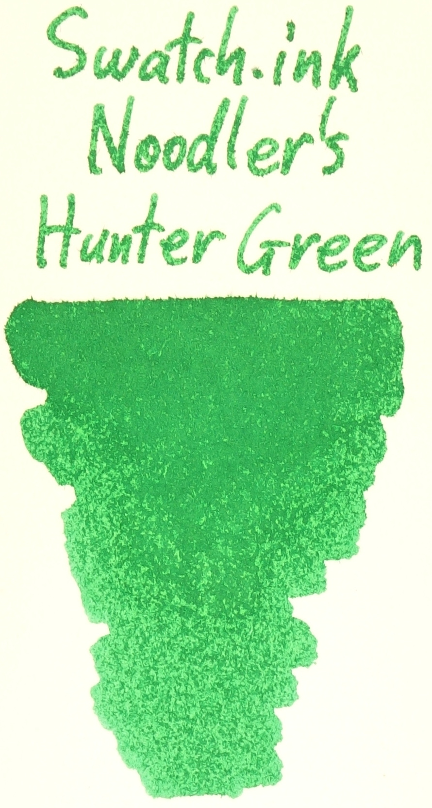 Noodler's Hunter Green Swatch.ink.JPG