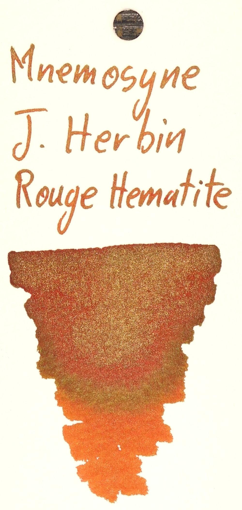 J. Herbin Rouge Hematite Mnemosyne.JPG
