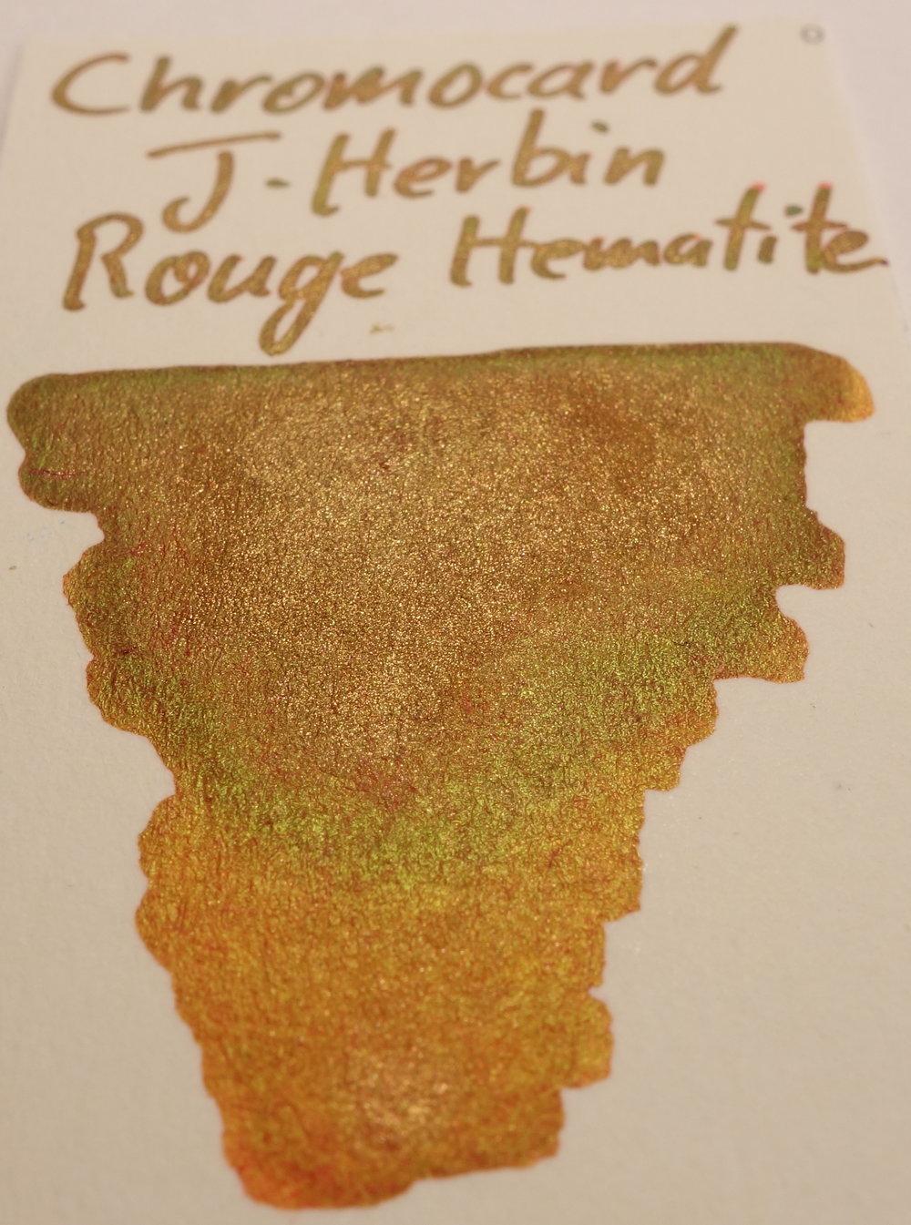 J. Herbin Rouge Hematite Sheen Chromocard 2.JPG