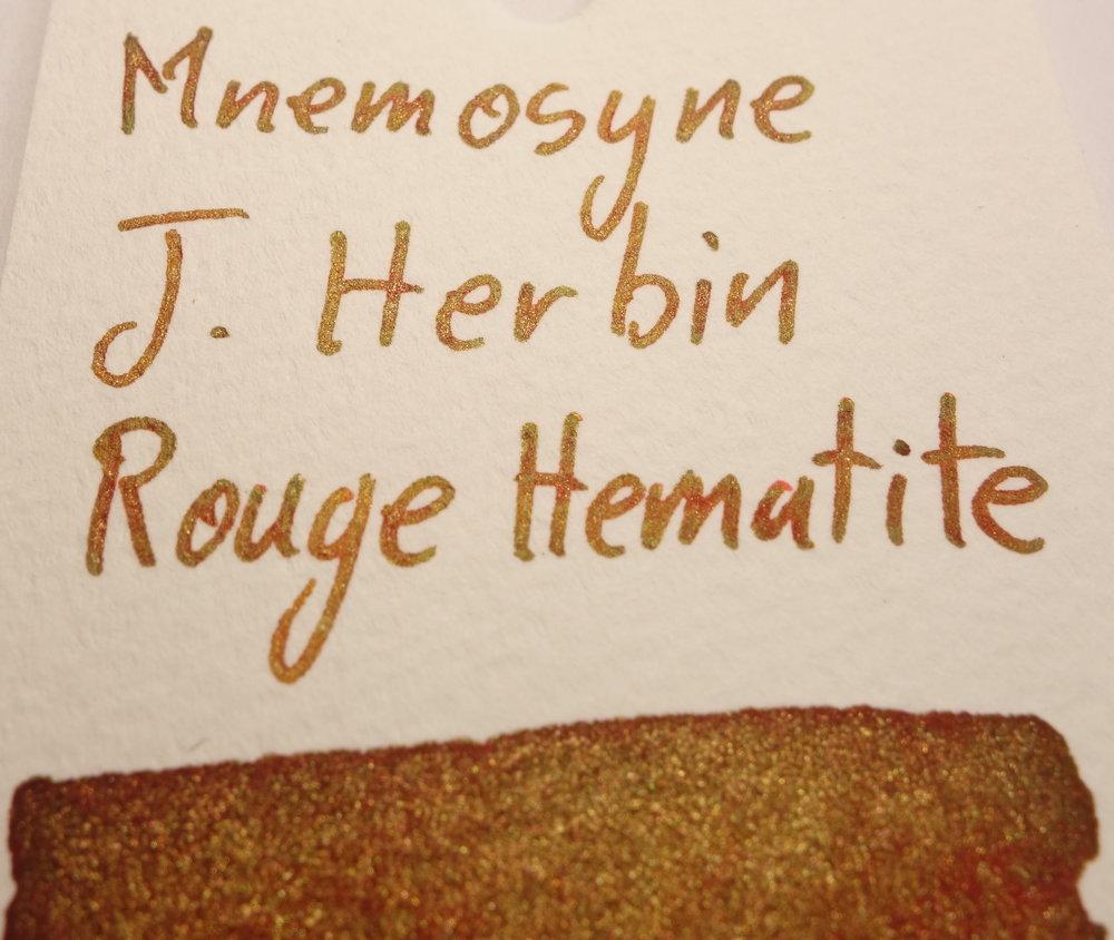 J. Herbin Rouge Hematite Sheen Mnemosyne.JPG