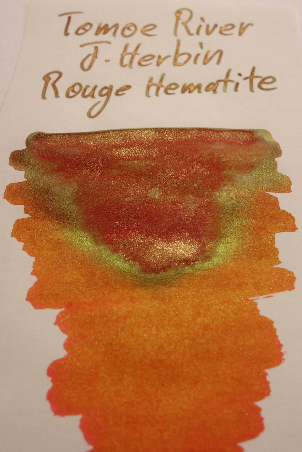 J. Herbin Rouge Hematite Sheen Tomoe River 2.JPG