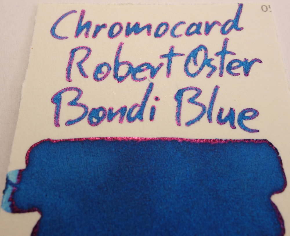 Robert Oster Bondi Blue Sheen Chromocard.JPG