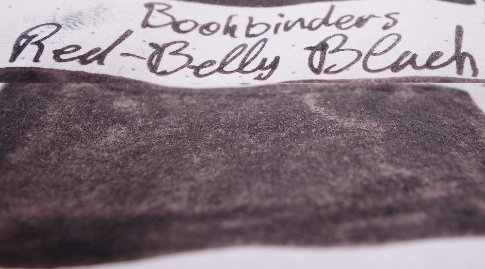 Bookbinders Red-Belly Black (Rhodia)