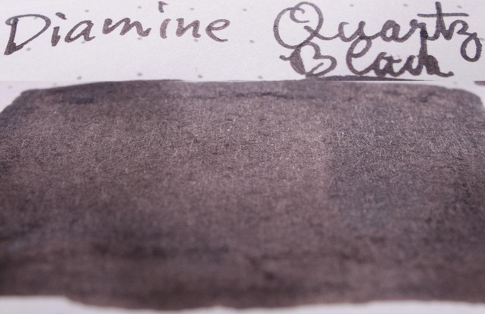 Diamine Quartz Black (Rhodia)