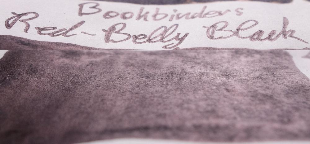 Bookbinders Red-Belly Black (Tomoe River)