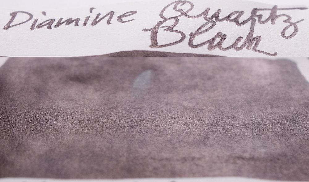 Diamine Quartz Black (Tomoe River)