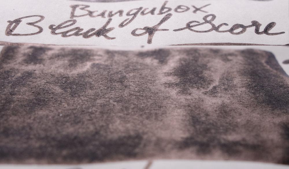Bungubox Black of Score (Tomoe River)