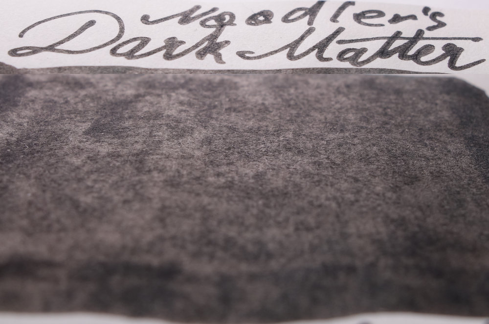 Noodler's Dark Matter (Tomoe River)
