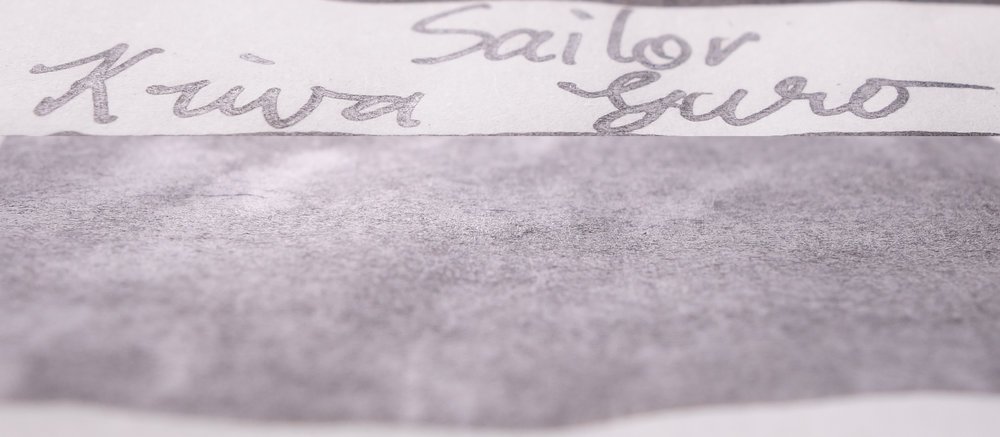 Sailor Kiwa Guro (Tomoe River)