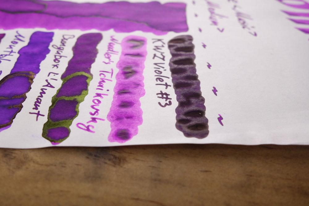Violet #3 & Tchaikovsky