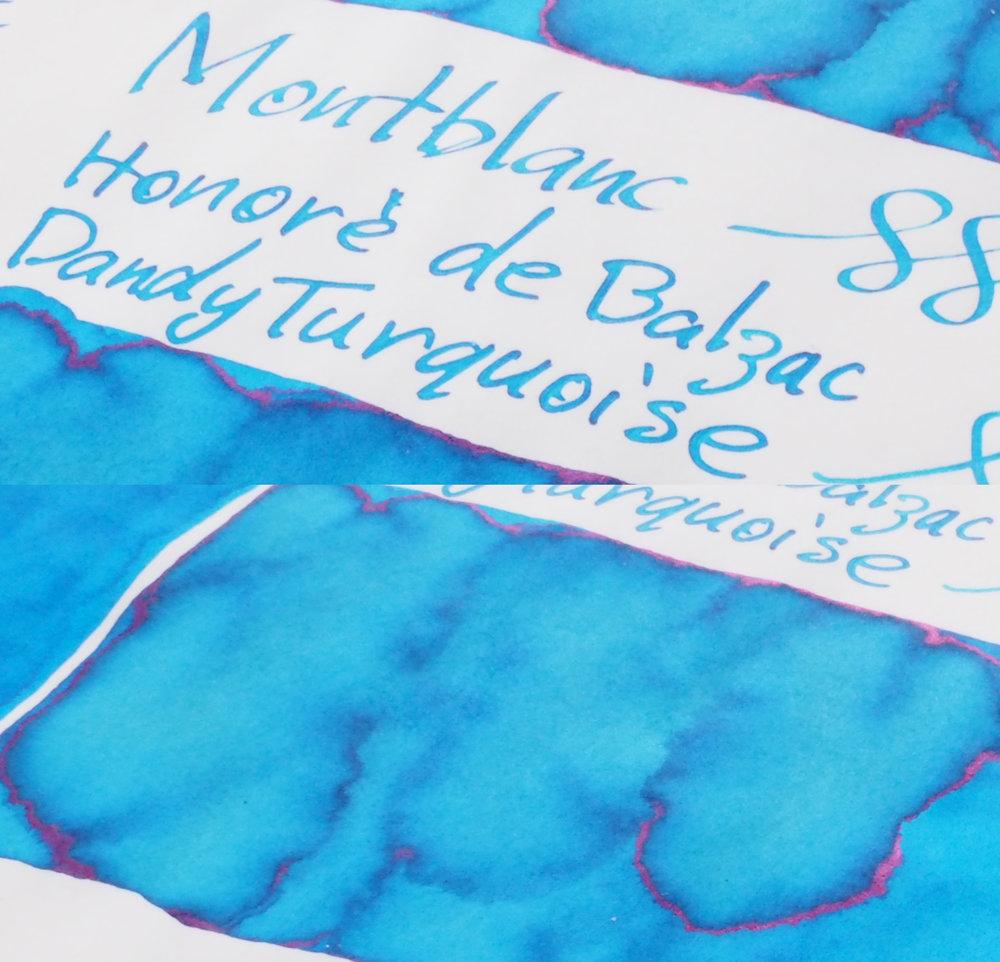 Sheen Montblanc Honoré de Balzac Dandy Turquoise