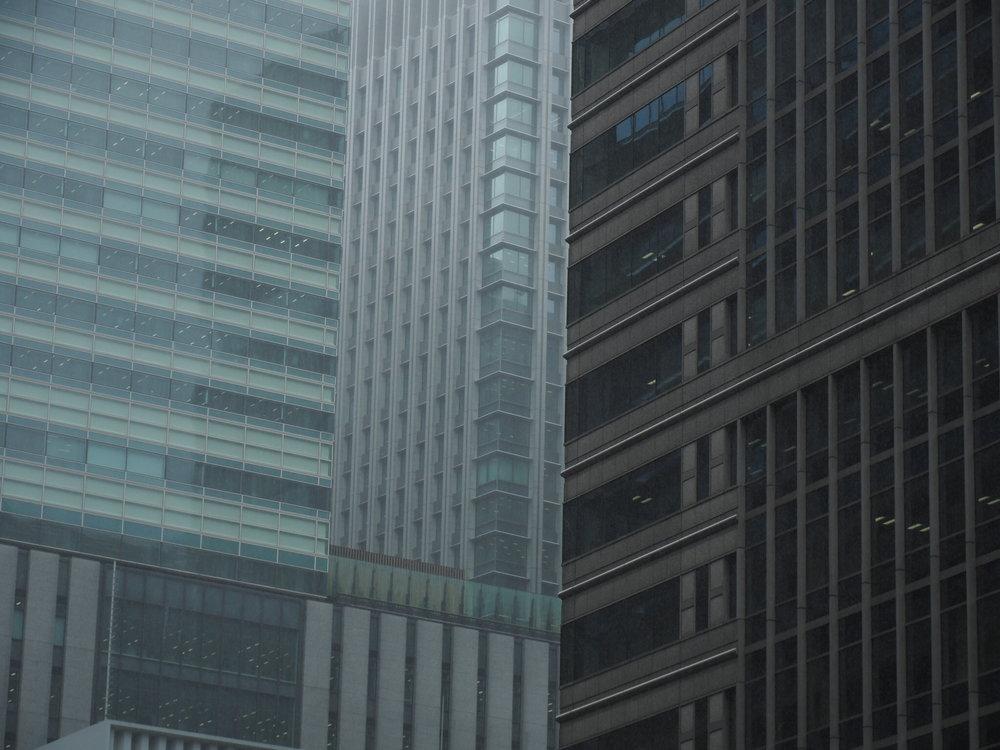Concrete Jungle near Nihombashi, Tokyo