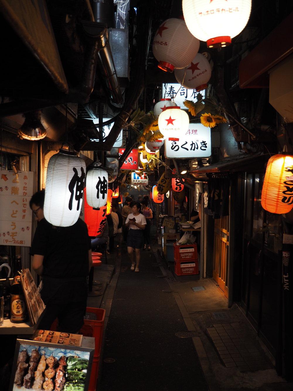 Alley in Shinjuku, Tokyo