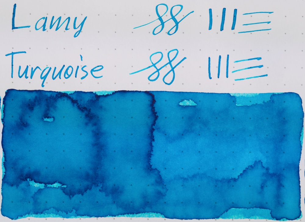 Rhodia: Lamy Turquoise