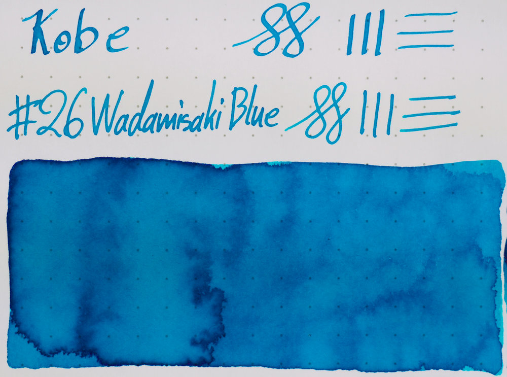 Rhodia: Kobe #26 Wadamisaki Blue