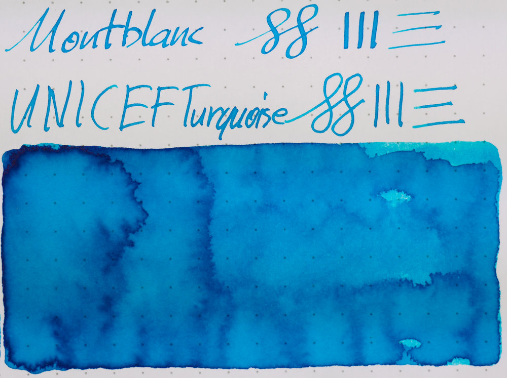 Rhodia: Montblanc UNICEF Turquoise