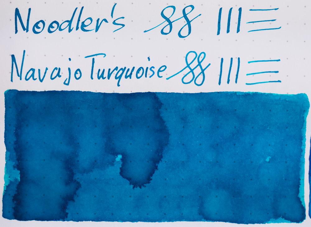 Rhodia: Noodler's Navajo Turquoise