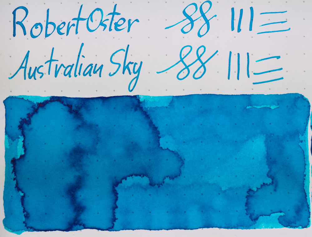 Rhodia: Robert Oster Australian Sky
