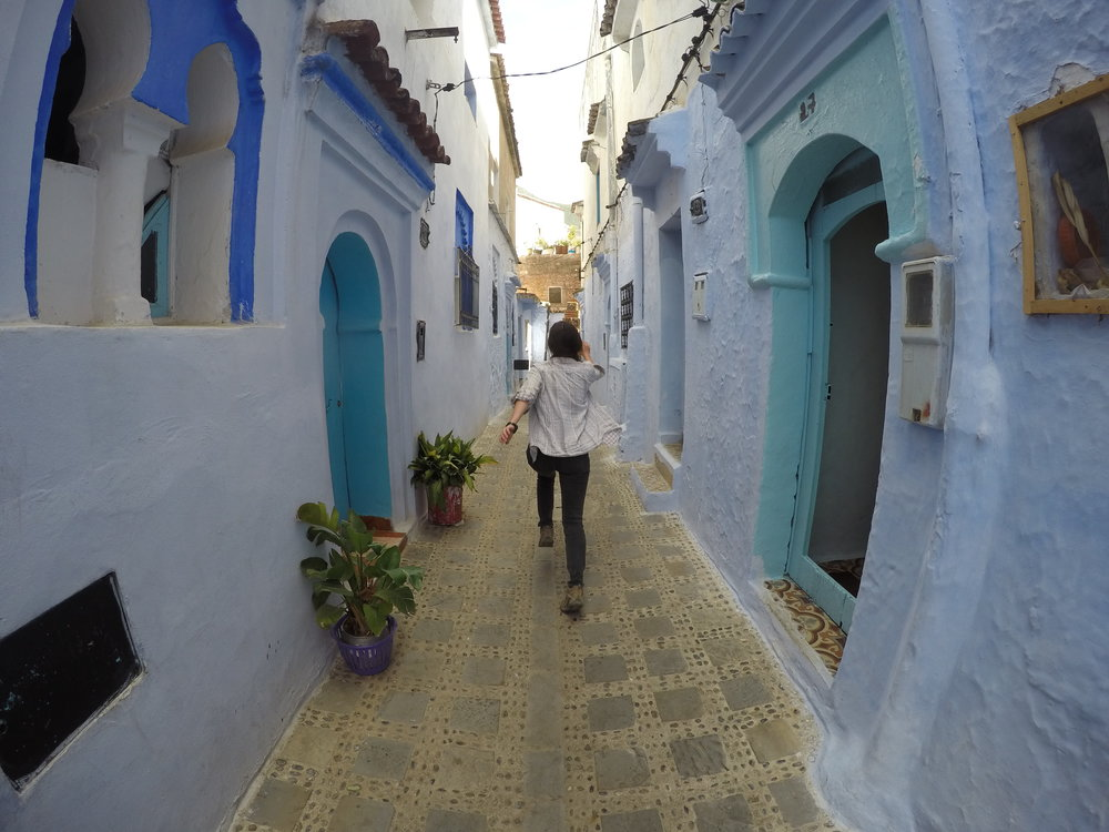 Beautiful (blue) Chefchaouen