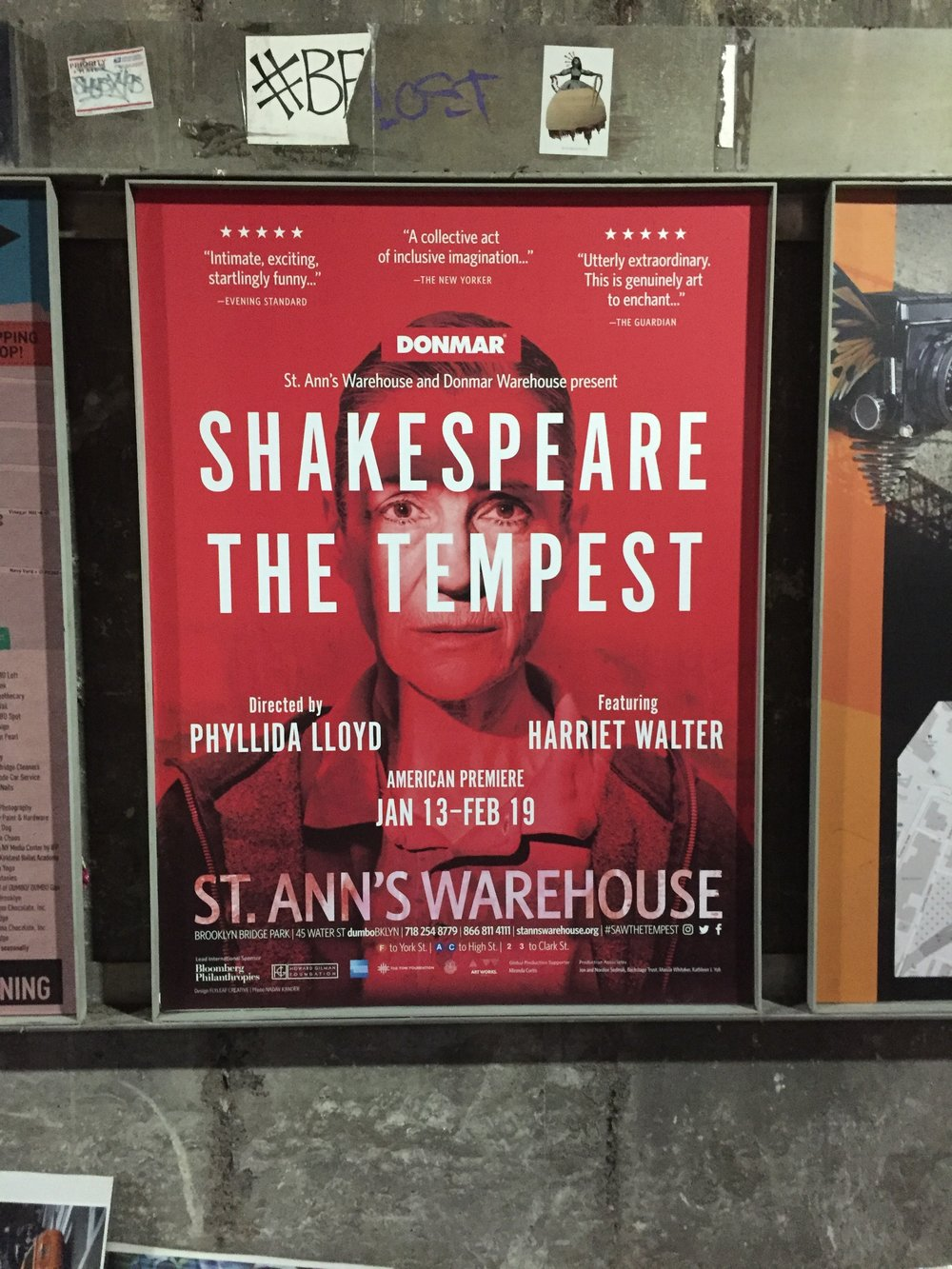 The Tempest @ St Ann's Warehouse