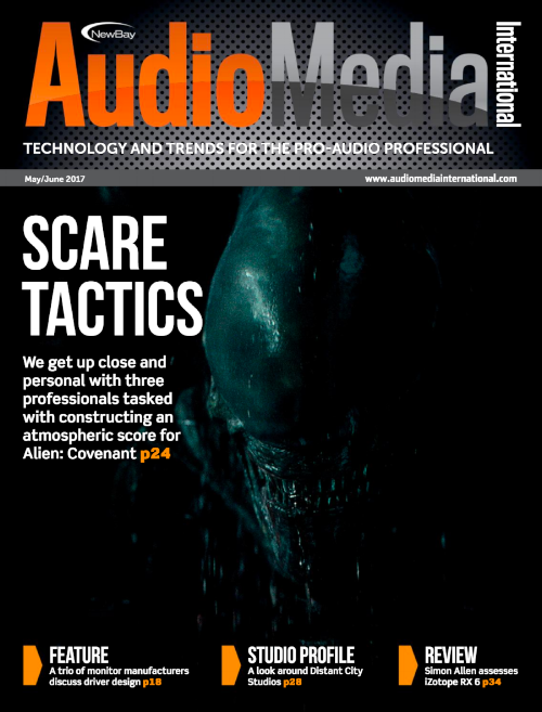 Audio Media International Front Cover