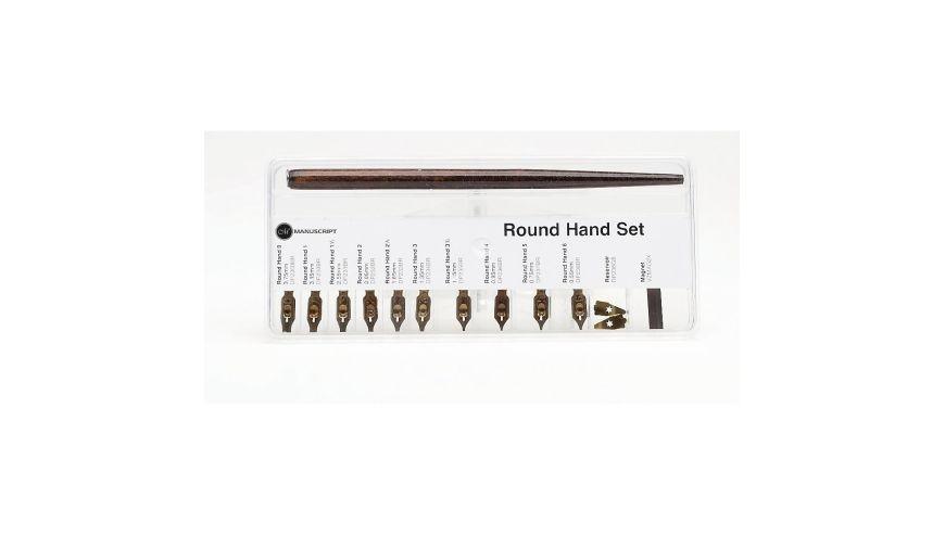 Round Hand Dip Pen & Nib Set
