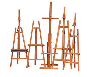 Lyre Easels