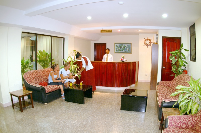 Central Hotel Lobby