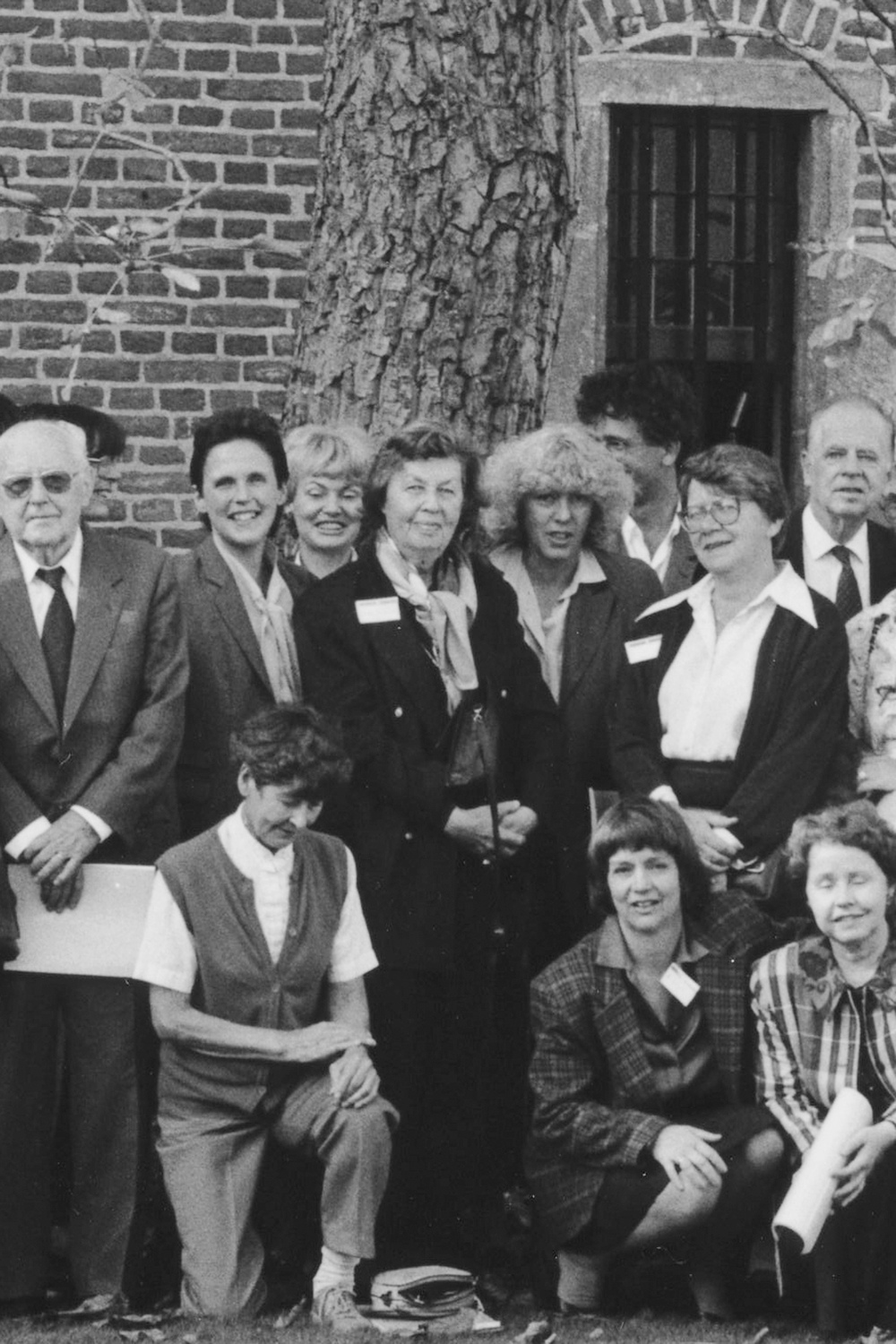 Dr Myriam de Senarclens (top row, fifth from the right)