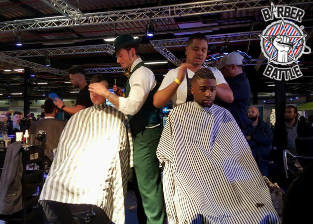 Barber Battle teaserBarber Battle is een competitie die bestaat uit vijf categorieën waarin barbers hun expertise in praktijk brengen en de titel