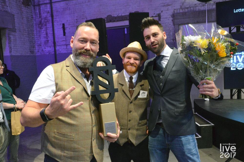 'De Meesterbarbier' (Tilburg), winnaar Barbershop Award 2017