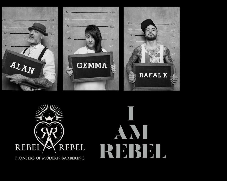 Rebel Art Team (UK)Het RAT-pact is de educatieve en creatieve tak van de Schotse Barber-pioniers 'REBEL REBEL'. Het pact is samengesteld uit het multi-award winnende barbiers. Grootste drijfveer van Het 'Rebel Art Team' of 'RAT pact' is om als uniek merk in het barbervak te inspireren. Dit jaar wordt het team vertegenwoordigd door: Alan Findlay, Gemma Willock Smith en Rafal Kwiatkowska. Een foto uit hun 'kids we lost' collectie staat op de cover van de eerstvolgende editie van BarberSociety magazine.-Ma: show/15m -