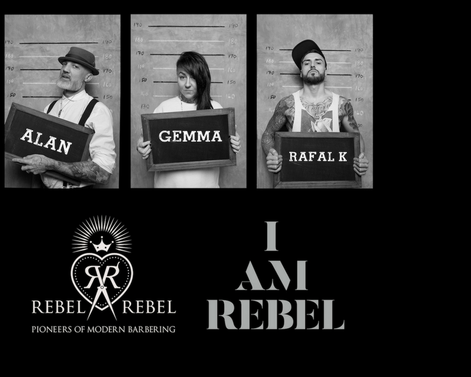Rebel Art Team (UK)The RAT pack is the educational and creative branch of the Scottish Barbering pioneers 'REBEL REBEL'. The pack has been assembled from the very best of talent from the Glasgow barbering giants. The 'Rebel Art Team' or RAT pack main drive is to inspire with its unique brand of barbering..! This year, the team will be represented by: Alan Findlay, Gemma Willock Smith and Rafal Kwiatkowska. An image of their 'kids we lost' collection is on the cover of the newest edition of the Dutch BarberSociety magazine-Mon: show/15m -
