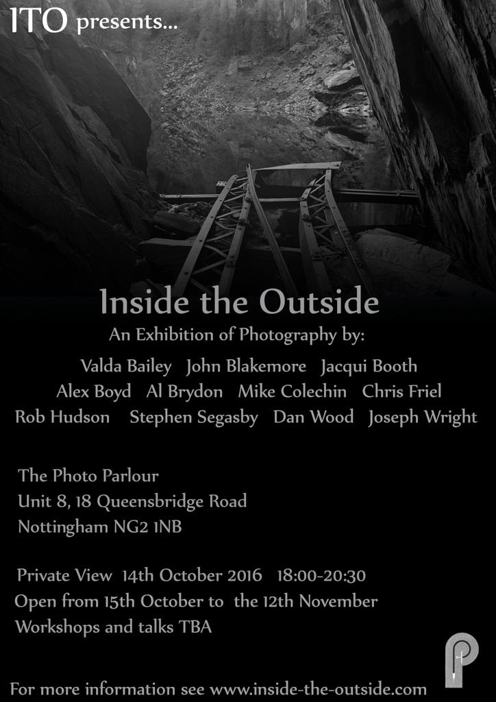 Inside the Outside - Exploring Contemporary Landscape PhotographyThe Photo Parlour, Nottingham