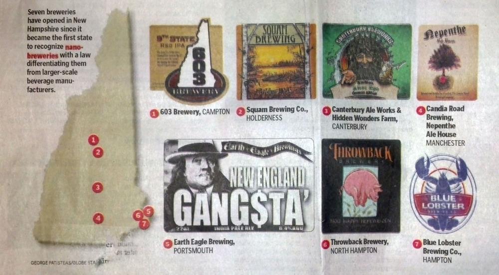 Artwork featured in Boston Globe Article