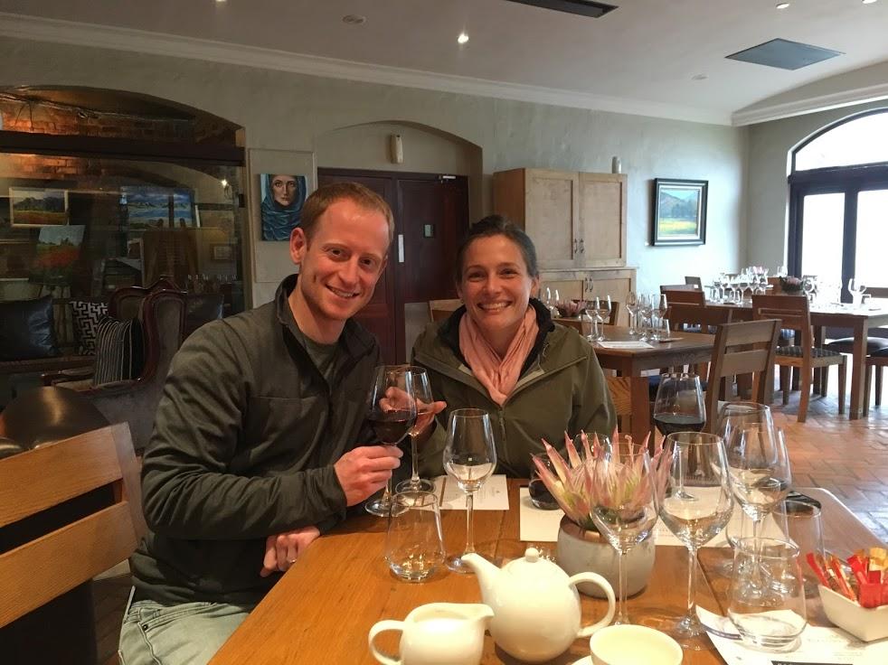 Wine tasting in Stellenbosch