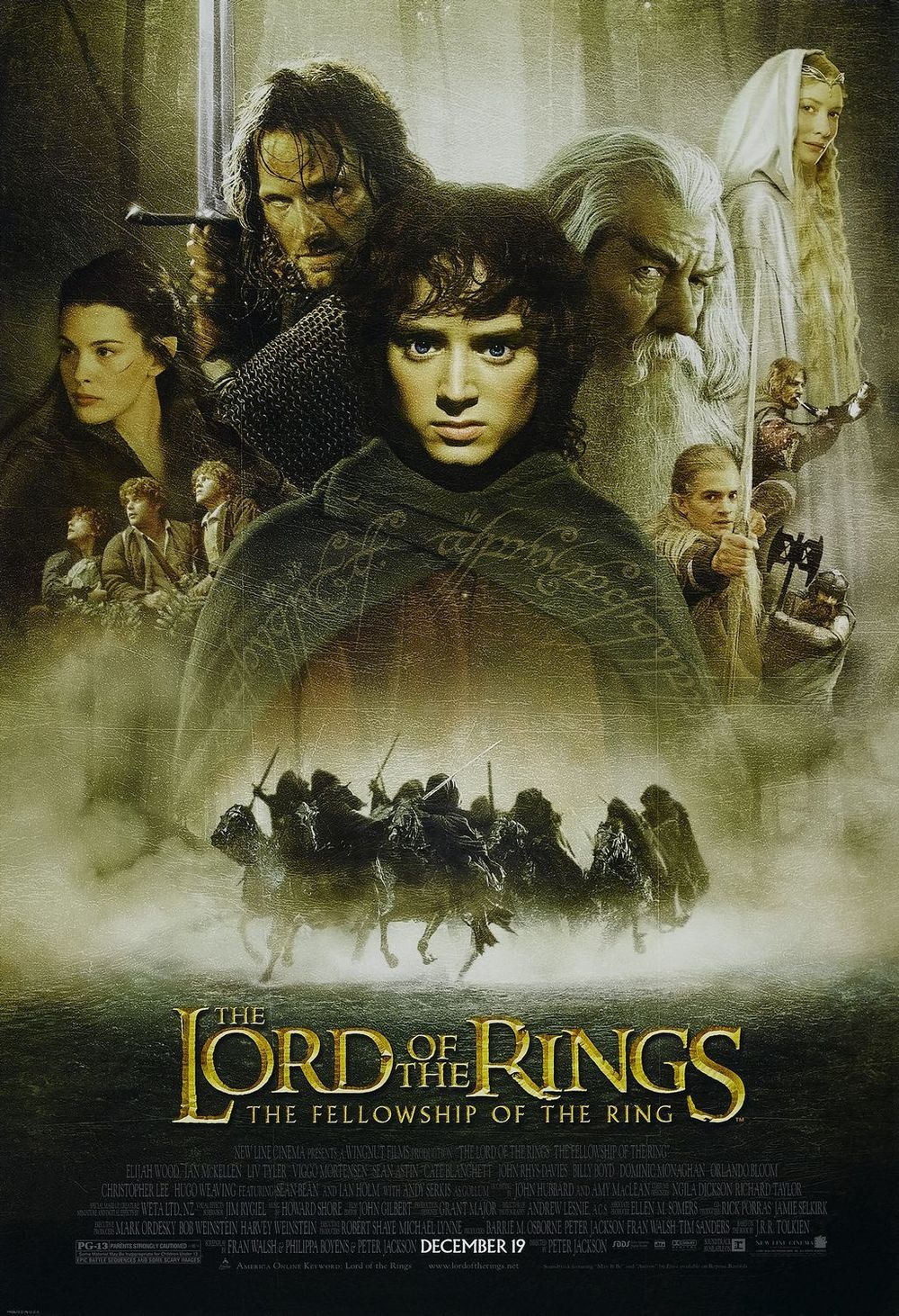 The J.R.R Tolkien Movies