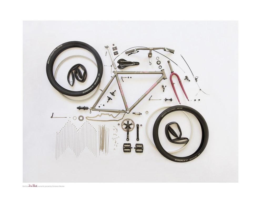 Le Jeune ATB frame build by Francois du Toit